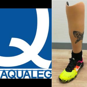 gamme aqualeg chez opr prothèses esthétiques silicone haute définition et waterproof