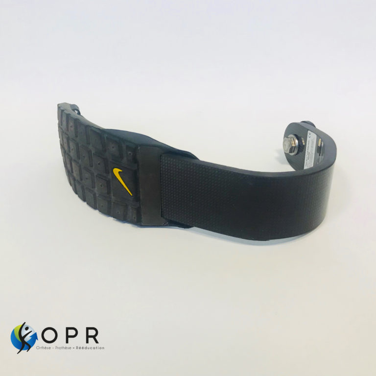 lame de course ossur runflex collaboration nike sole disponible chez orthese prothese reeducation en bretagne à rennes et en normandie
