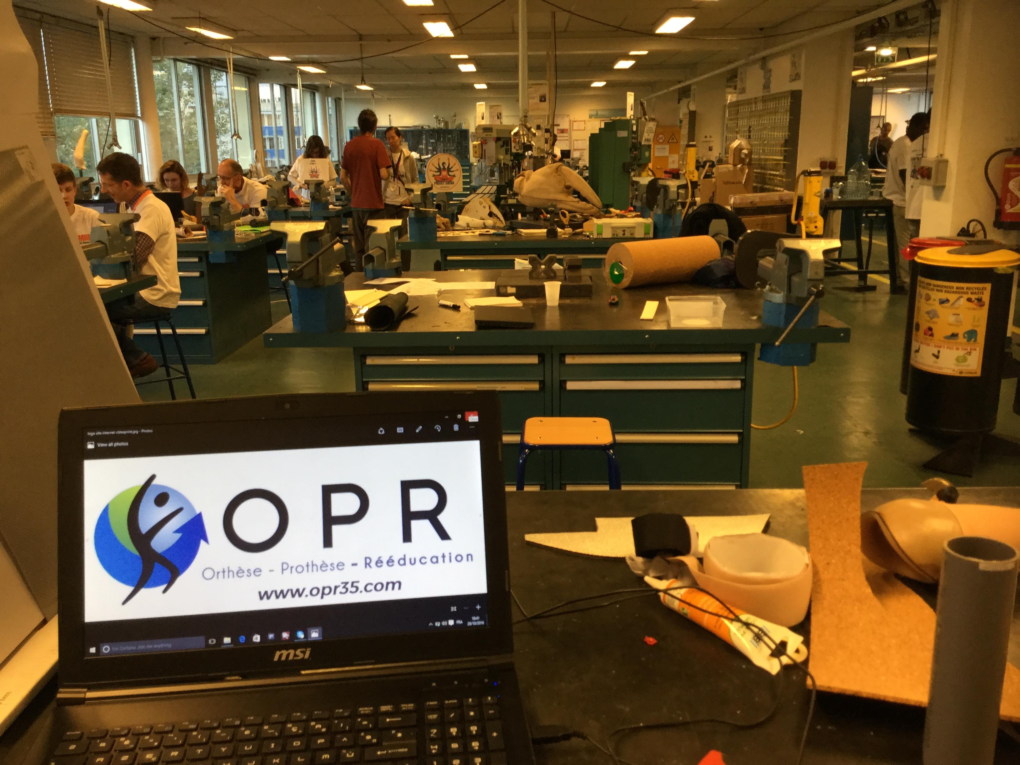 OPR était présent au fabrikarium de Toulouse