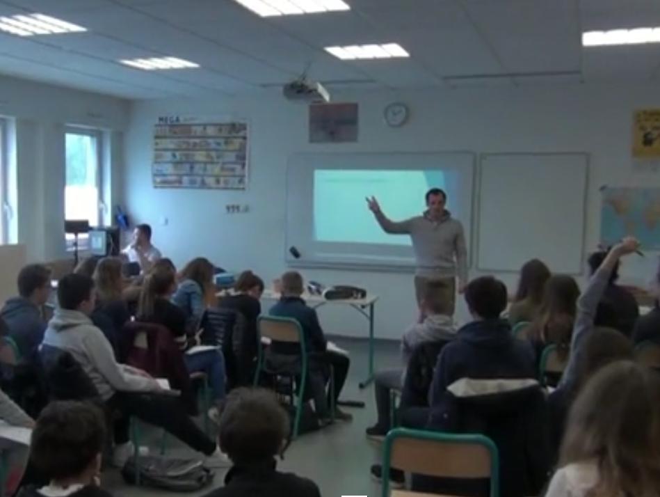 présentation prothèses collègue élèves handicap