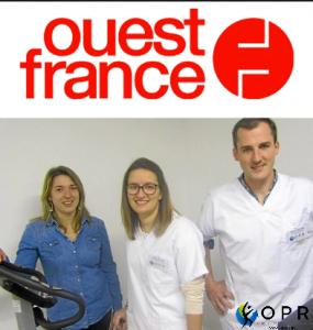Article OPR dans Ouest France : Orthèses et prothèses conçues à Avranches
