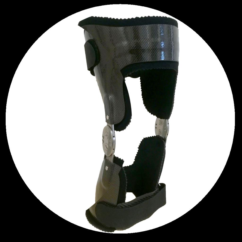 orthèse de genou en carbone à rennes et en normandie
