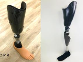 protheses de jambe et de cuisse fabriqués pour les personne amputés en bretagnee et en normandie