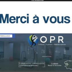 vidéo OPR 1000 likes sur Facebook en orthopédie bretagne et normandieæ