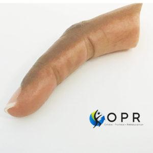 Prothèse de doigt pour doigts coupés ou malformation en normandie et en bretagne chez nos orthoprothésistes