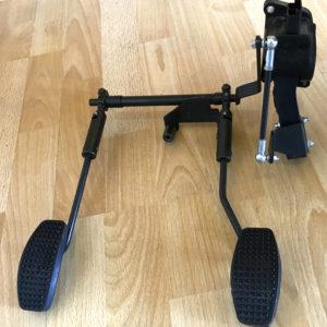 pédalier inversé pour personnes amputée et appareillées d'une prothèse de jambe en bretagne à rennes et Normandie à Avranches