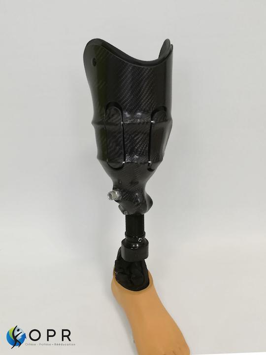 site prothese de jambe après amputation avec systeme de fixation BOA près à Rennes (35) et Avranches (50)