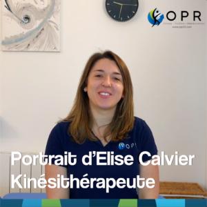 [Vidéo] Portrait d'Elise, kinésithérapeute en collaboration avec OPR