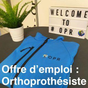 Offre d'emploi d'applicateur chez OPR, orthoprothésiste Rennes – Avranches