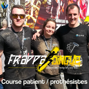 [Video Frappadingue] Retrospective de la course d'obstacle patient/prothésiste !
