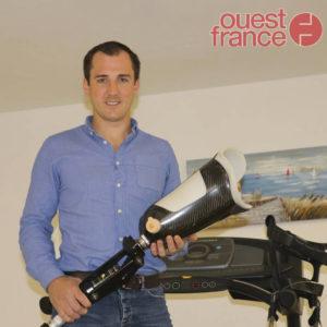 [Article Ouest France] Avranches : Dépasser ses limites avec sa prothèse
