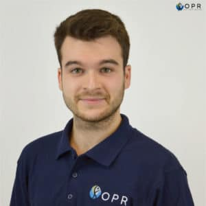 Maxime Berthelot, concepteur CAO chez OPR, orthese prothese reeducation à Rennes en Bretagne? Protheses en 3D