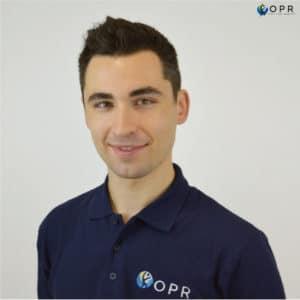 Quentin Trebuil, orthoprothésiste en bretagne et en normandie pour OPR