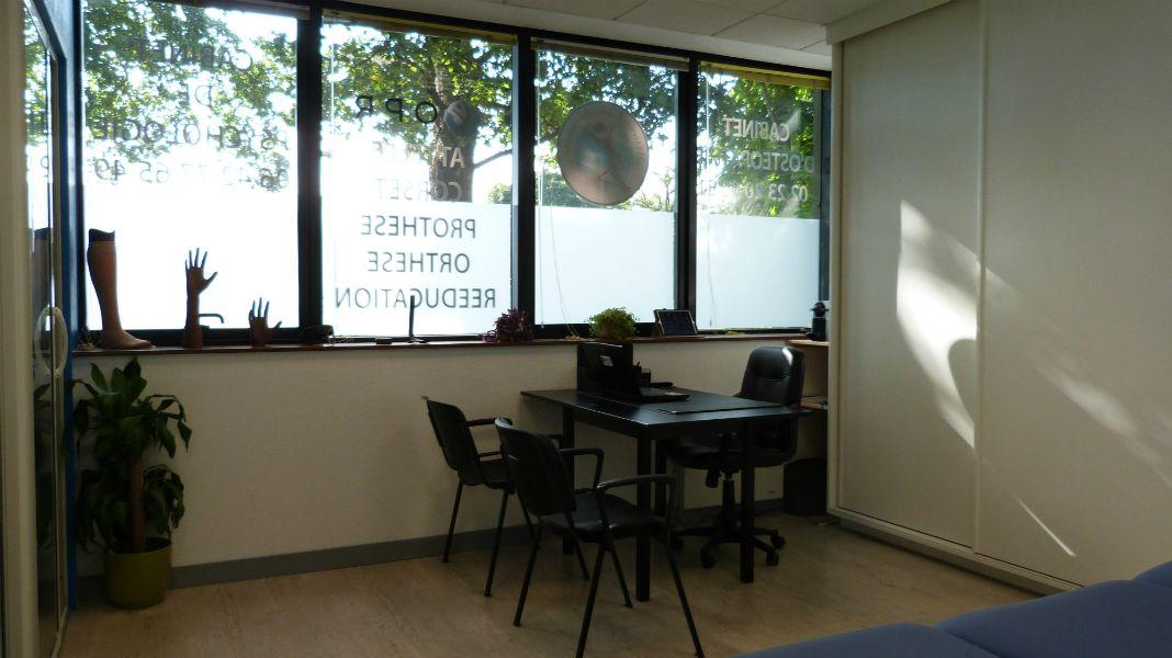 Salle orthoprothésiste