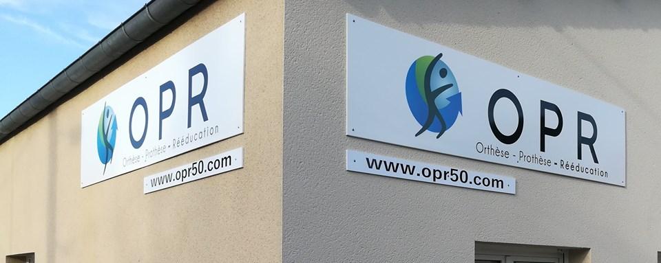Façade exterieur du cabinet OPR d'Avranches