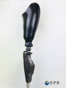 prothèse fémorale en carbone avec genou mircroprocesseur c leg à Rennes en bretagne