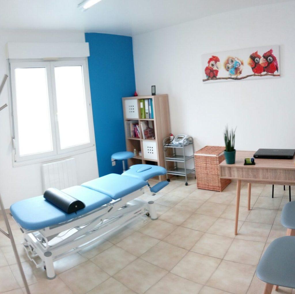 salle de consultation du cabinet orthopédie, orthoprothèsiste à Avranches