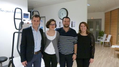 Inauguration du pôle paramédical à Rennes