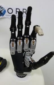 Vidéo de l'essai de la main myoéléctrique I-Limb Quantum