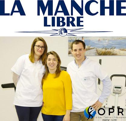 Article OPR dans la Manche Libre : Un premier cabinet d'orthopédie à Avranches