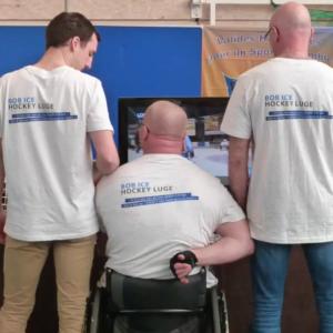 OPR orthèse prothèse rééducation est engagé dans le handisport avec la fabrication de luges pour personnes handicapées
