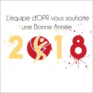 L'équipe OPR vous souhaite ses meilleurs voeux