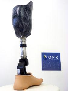prothese de jambe tibiale personalisé effet marbre à rennes en ile et vilaine et en normandie