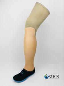 esthétique tibiale prothèse invisible de tibia fabriqué à rennes disponible dans la manche