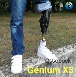 Genou Génium X3 chez OPR