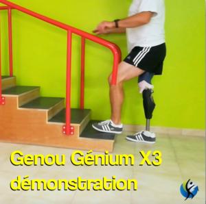 Démonstration Genou Génium X3