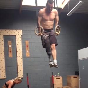 Séraphin, patient OPR, est impressionnant en CrossFit !
