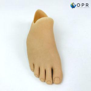 pied en silicone pour amputation partielle ou agénésie fabriqués pour les amputés du pied pour retrouver fonctionalité et esthétisme en bretagne et en normandie