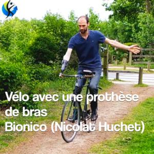 Faire du vélo avec une prothèse de bras c'est possible !