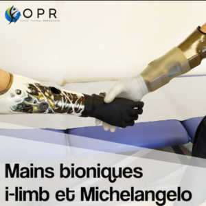 Rencontre des mains I-limb et Michelangelo chez OPR !
