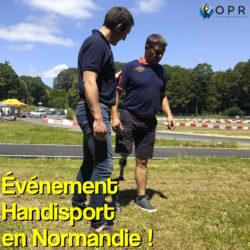 événement handisport pour initier les personnes amputées aux sport et à la course à pied grâce à des lâmes de sport en normandie