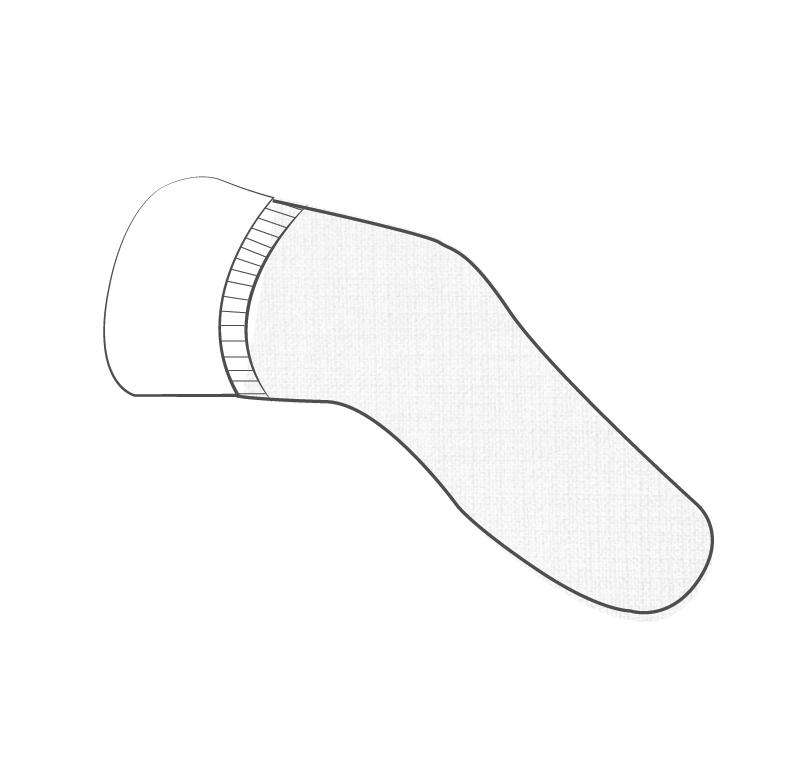 mettre un bonnet elastocompressif la nuit pour gerer les variations du volume du moignon. orthoprothésistes en bretagne a Rennes et en Normandie a Saint-lô et Avranches