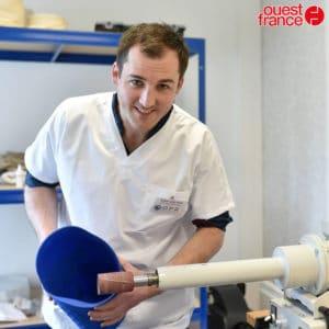 Article Ouest France :  L'orthoprothésiste OPR s'étend en Normandie