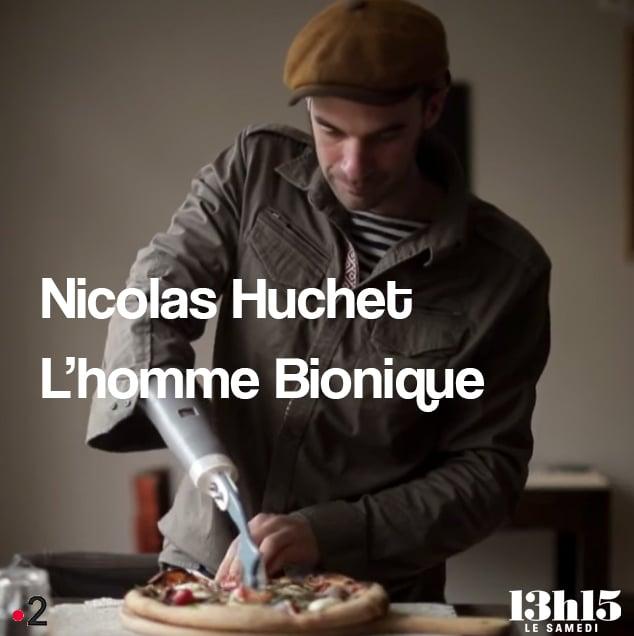 Portrait de Nicolas Huchet «Bionico» sur France 2