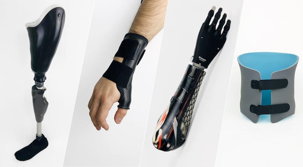 prothèses et appareillages réalisés par opr