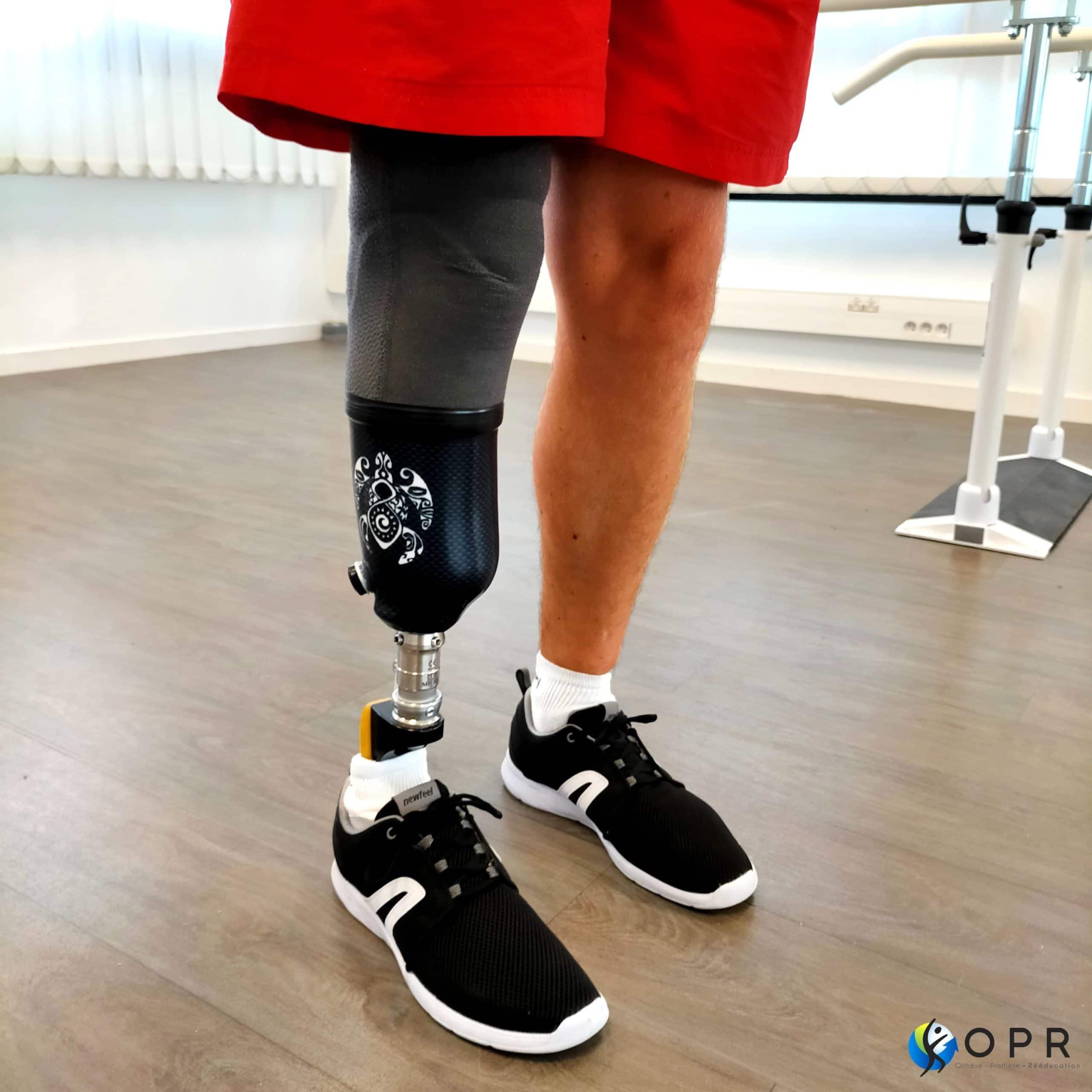 Prothèse tibiale personnalisée sur demande !