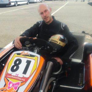 handikart : Benjamin fondateur et président de l'association HANDI MECA SPORT, amputé fémoral il pratique le karting