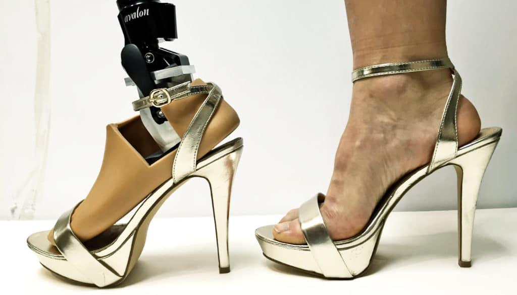 prothèse pour porter des talons